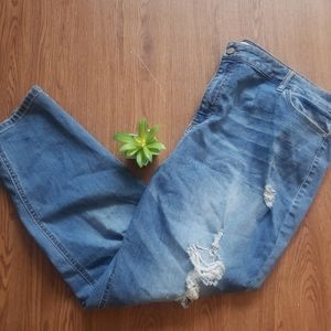 TinselTown distressed skinny jeans. Size 24